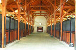 rubber horse stalls